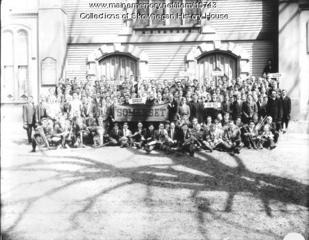 Old Methodist Church Youth Conference, Skowhegan Island, ca. 1900