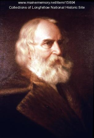 Painting of Henry Wadsworth Longfellow, 1876