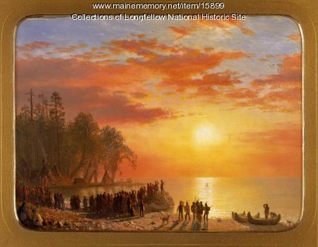 Departure of Hiawatha, ca. 1868
