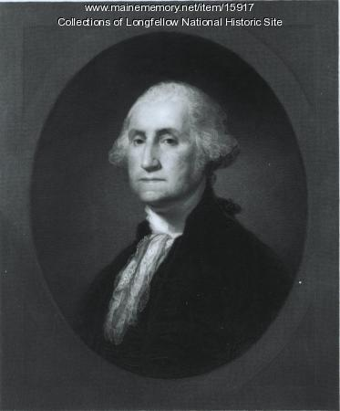 Print of George Washington by Marshall