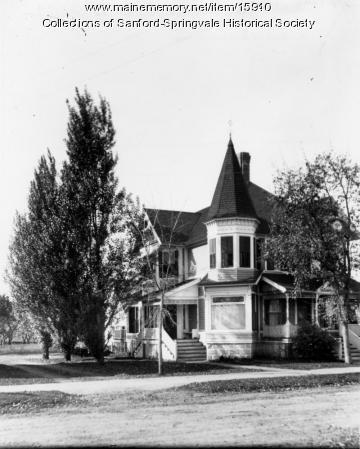 Dr. Millard Nickerson Home, 863 Main Street, Sanford