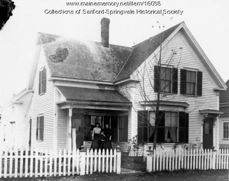 68 Brook Street, Sanford, ca. 1905