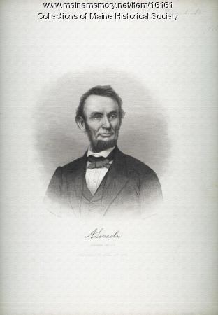 Abraham Lincoln engraving