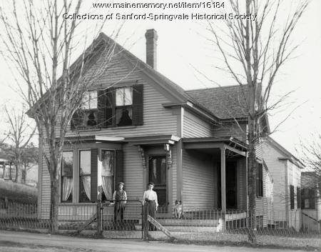 Island Avenue Extension, Sanford, ca. 1905