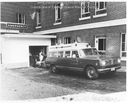 Bangor Ambulance at Eastern Maine General Hospital