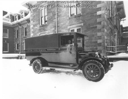 Ambulance at Eastern Maine General Hospital