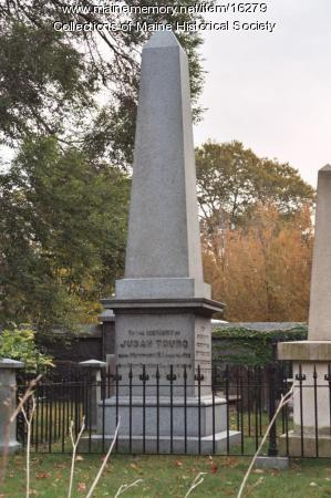 Judah Touro's Memorial in the Cemetery