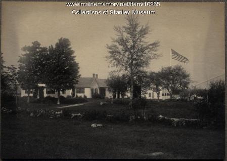 John Davis Long homestead, Buckfield, 1899