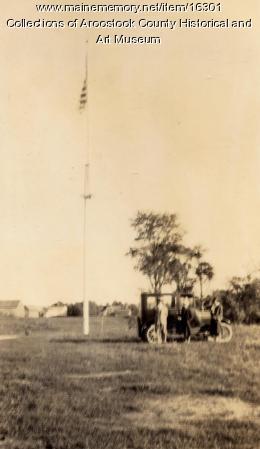 Hancock Barracks site, Houlton, ca. 1920