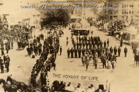 Houlton's Fourth of July Parade,  1892