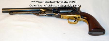Ephram Taylor Colt revolver, 1862