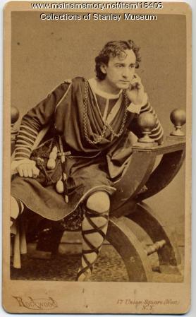 Edwin T. Booth as Hamlet, ca. 1870
