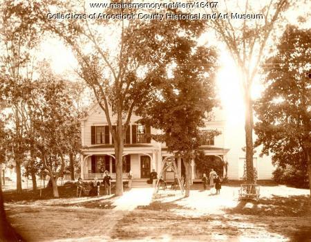 Ransford W. Shaw House, Houlton, ca. 1900