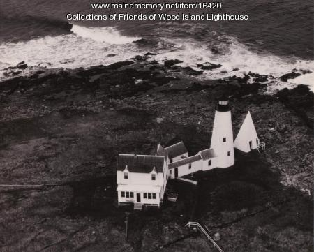 Wood Island Lighthouse, Biddeford, 1951