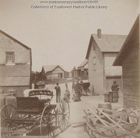 Clark Point, Southwest Harbor, ca. 1890
