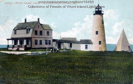 Wood Island Lighthouse, Biddeford, ca. 1920