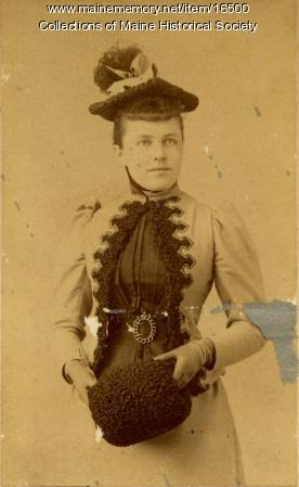 Alice Porter Storer, Portland, 1892