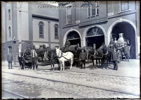 Munjoy Station, Portland, ca. 1912