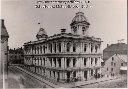 Custom House, Portland ca. 1880