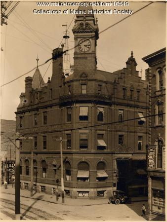 First National Bank, Portland, ca. 1920