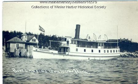 Steam ferry Schoodic, Winter Harbor, ca. 1920