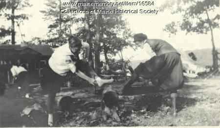 Mary Helen Catlin, Spencer Lake Camps, ca. 1920