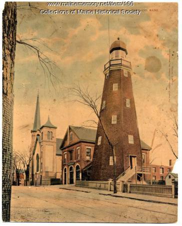 Portland Observatory, ca. 1880