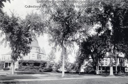 Louis B. Goodall Residence and Hotel Sanford, ca 1915