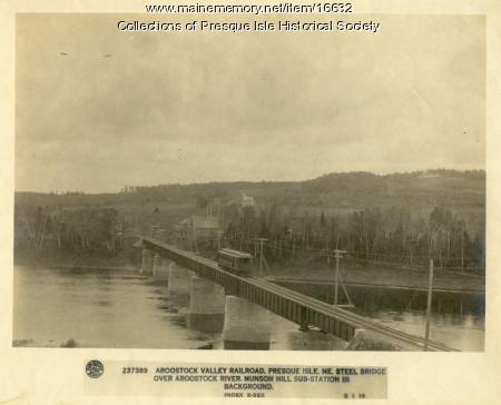 Aroostook Valley Railroad Trestle