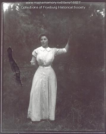 Ella Weeks Olney, Fryeburg, ca. 1910