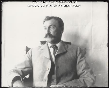 Loren Olney, Fryeburg, ca. 1915