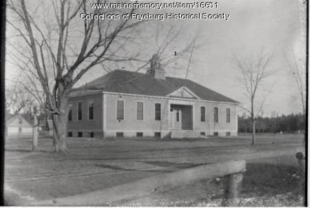Village School, Fryeburg, ca. 1910