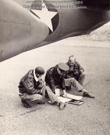 Douglas A-20 Air Crew, Presque Isle, c. 1942