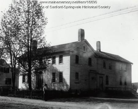 The Shapleigh Tavern, Sanford, ca 1909
