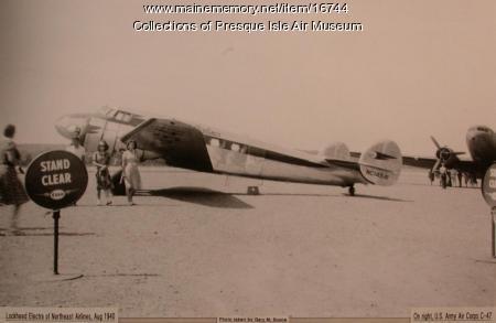 Lockheed 10A, Presque Isle, 1940