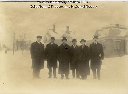Presque Isle pastors, 1915