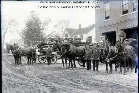 Arbor Street Fire Station, Portland, 1912