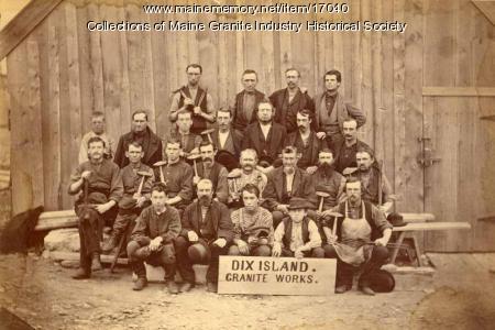 Dix Island Granite Company, Dix Island, ca. 1880