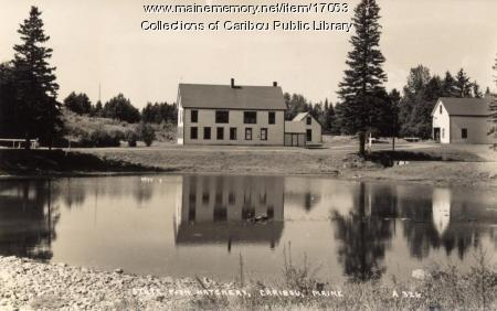 State Fish Hatchery, Caribou, ca. 1910