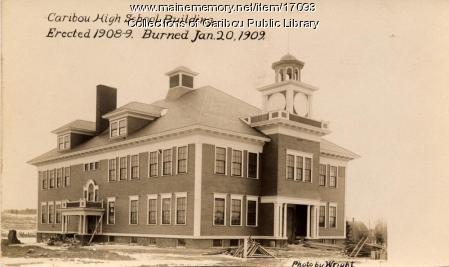 Caribou High School, 1909