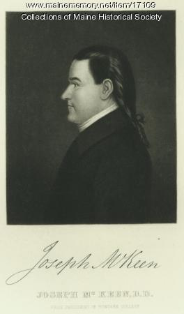Joseph McKeen, Brunswick, ca. 1800