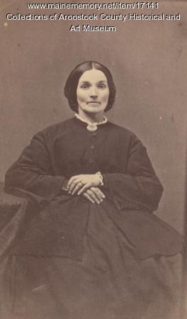 Mrs. Robert Gray, Houlton, ca. 1870