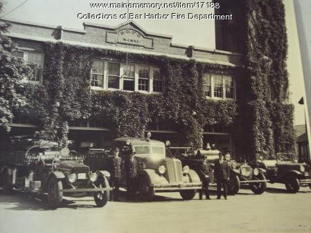 Bar Harbor Fire Department Building