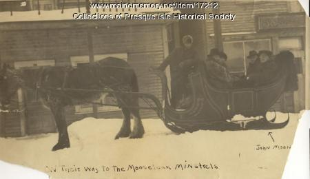 John Mooney, Presque Isle, ca. 1910