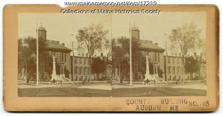 County Building, Auburn, ca. 1890