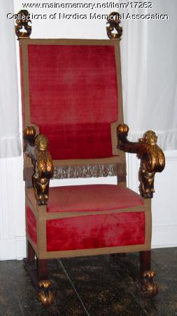 Chair from Diamond Jim Brady to Lillian Nordica