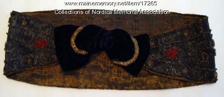 Headband worn by opera singer Lillian Nordica