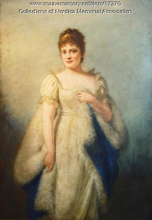 Madame Lillian Nordica portrait, 1878