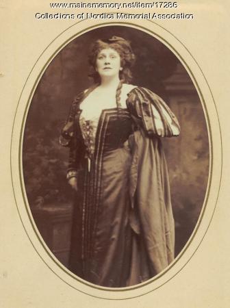 Opera singer Lillian Nordica, 1904