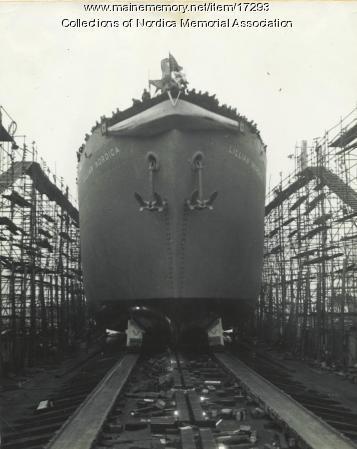 S.S. Lillian Nordica, WWII Liberty Ship